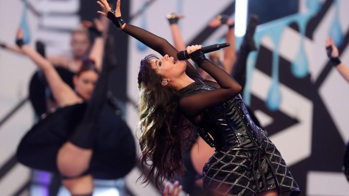 Camilla Cabello performs in 2017