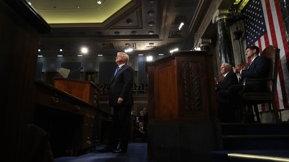 President Trump's first State of the Union