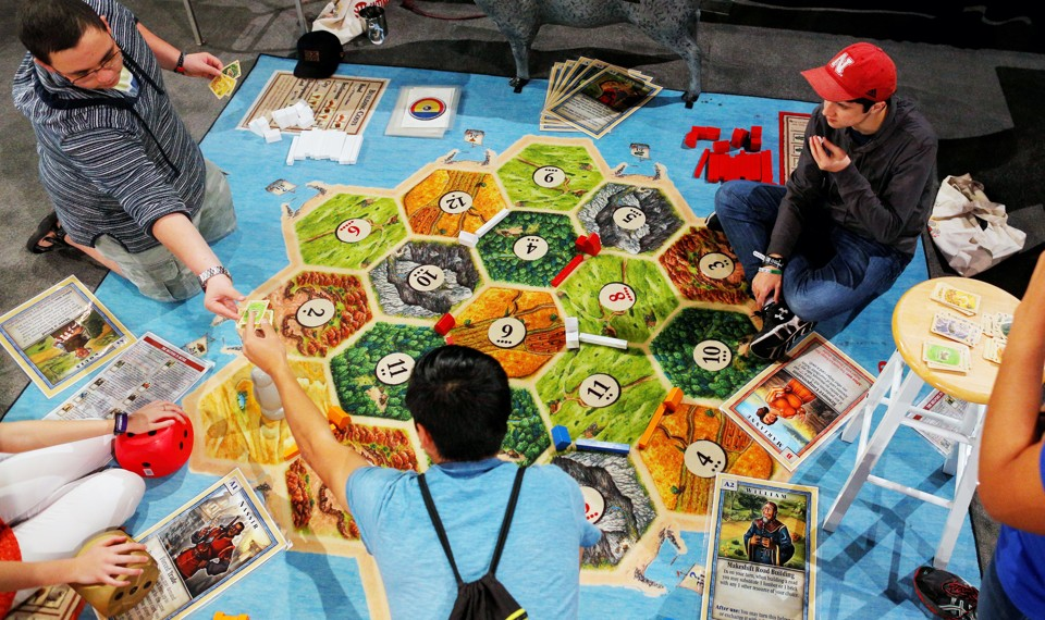 Settlers Of Catan And The Invasion Of The German Board