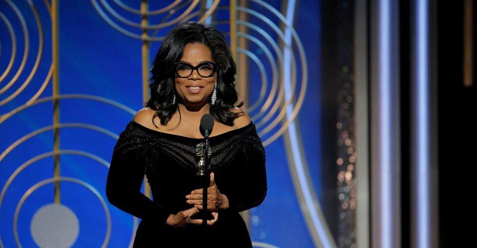 Full Transcript: Oprah Winfrey's Speech at the Golden Globes
