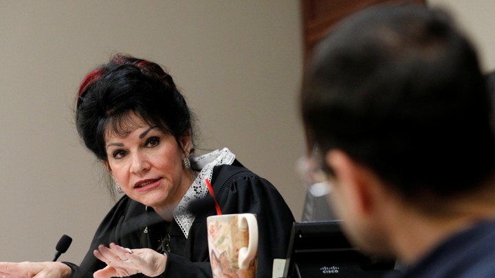 Circuit Court Judge Rosemarie Aquilina addresses Larry Nassar