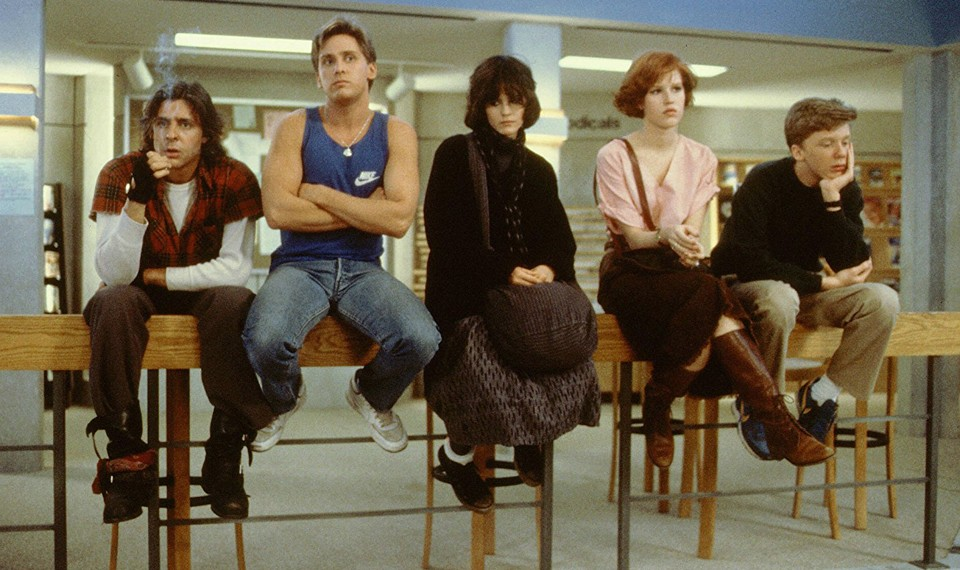 the emotional legacy of the breakfast club now on criterion  the five main characters of the breakfast club