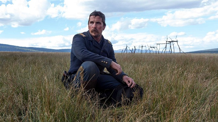 Christian Bale in the film 'Hostiles'