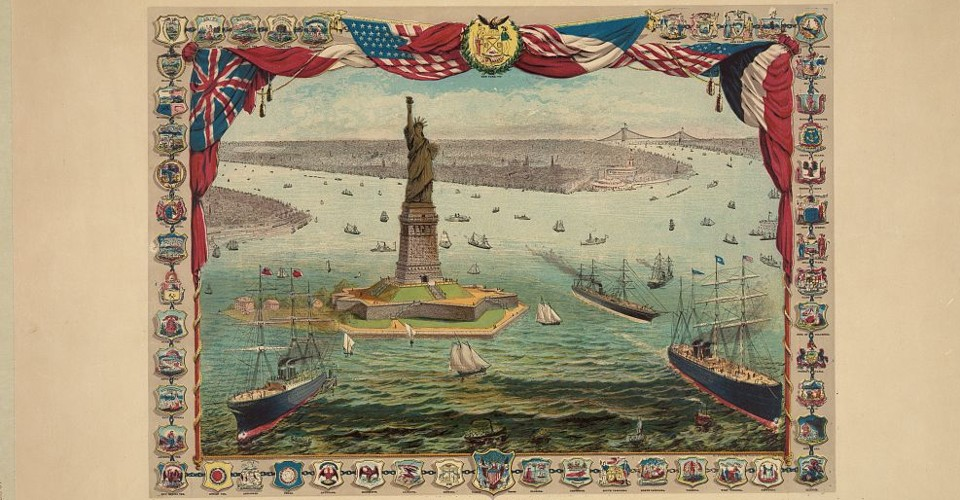 The Story Behind The Poem On The Statue Of Liberty The