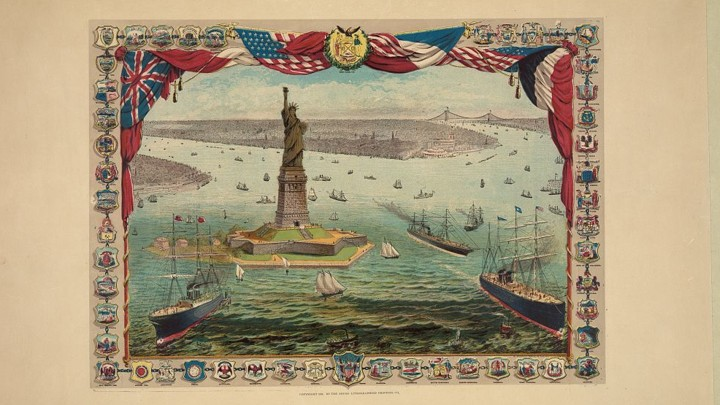 The Story Behind the Poem on the Statue of Liberty - The