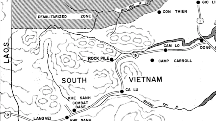 Lai Khe Vietnam Map.The Battle Of Khe Sanh And Its Retellings The Atlantic