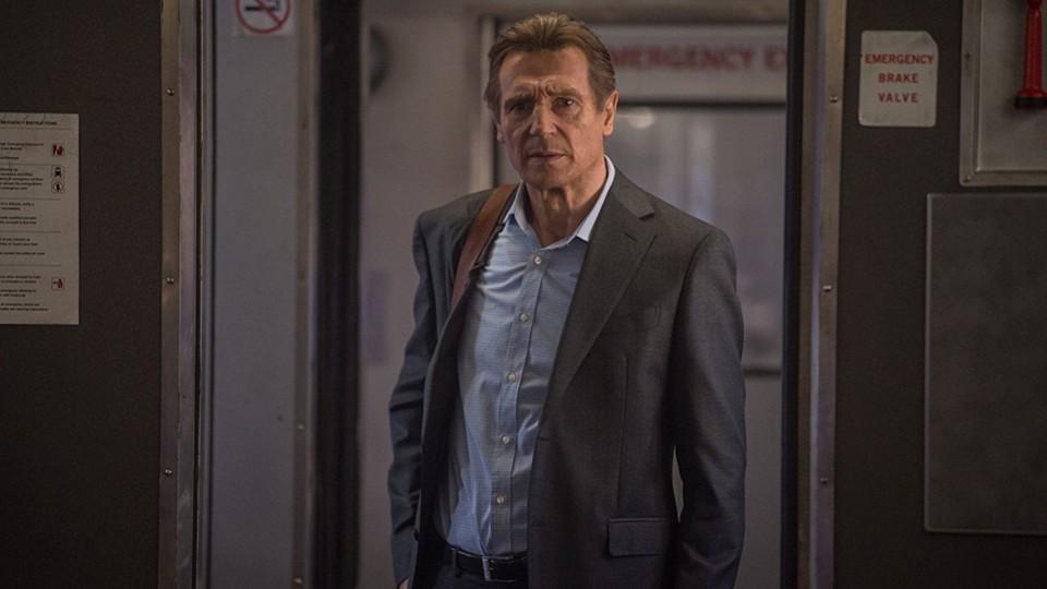 Liam Neeson in 'The Commuter'