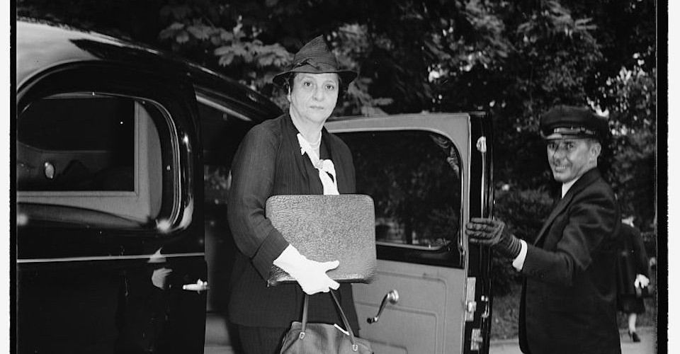 One Road to Character: Frances Perkins and the Triangle