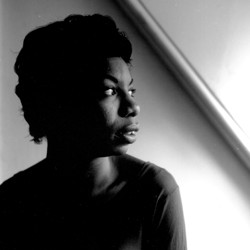 Nina Simone poses for a portrait in 1952 in New York City, New York.