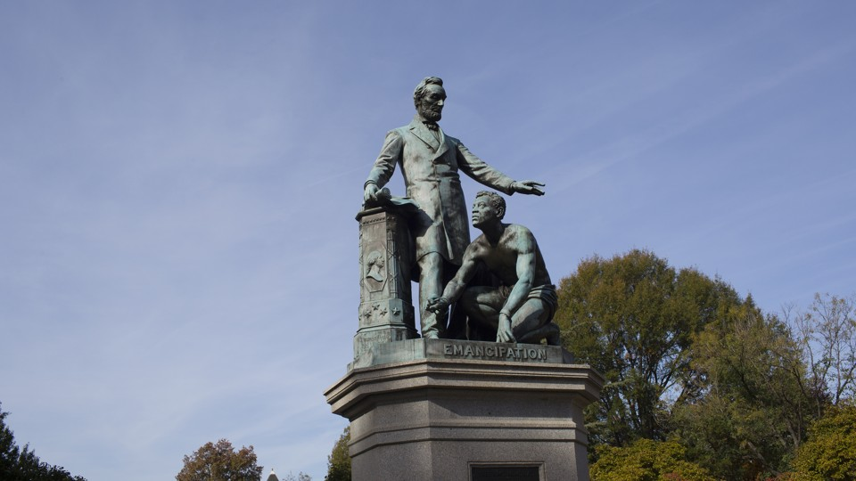 The Lincoln Emancipation Statue