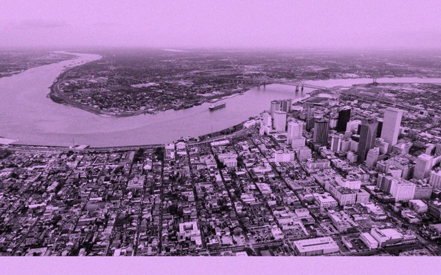 there are almost no obituaries for sylvia plath the atlantic a drone photo of downtown new orleans and the mississippi river the french quarter