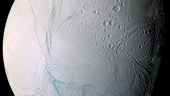 Enceladus, a moon of Saturn