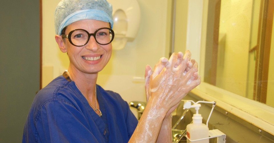A Breast-Cancer Surgeon Returns to Work After Breast Cancer