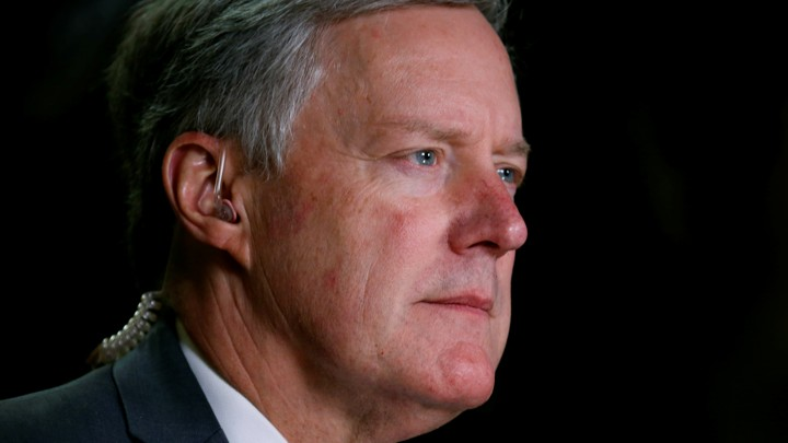Freedom Caucus Chairman Mark Meadows