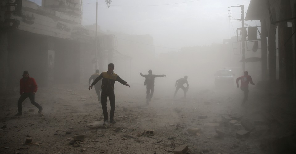 'No Words' Left to Describe Syria's Carnage