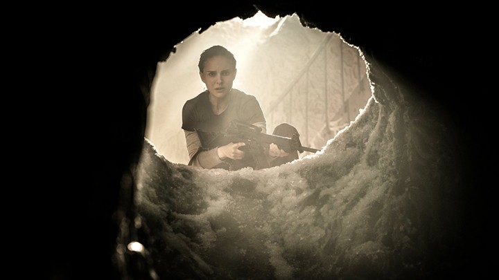 A still from 'Annihilation' with Natalie Portman