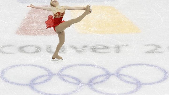 Rachael Flatt skates.
