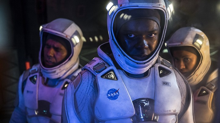 A still from 'The Cloverfield Paradox'
