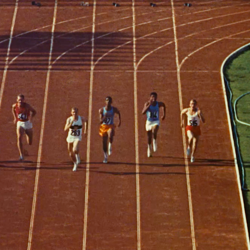 A still from one of the films in Criterion Collection's '100 Years of Olympic Films: 1912–2012'