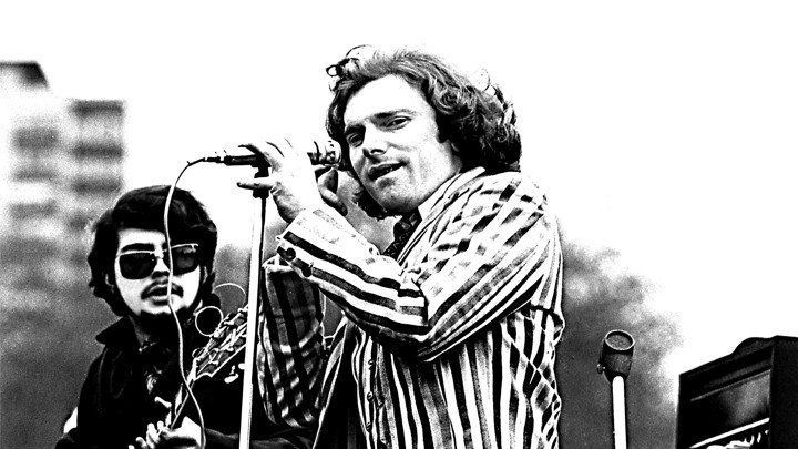 Van Morrison at Spring Sing on Boston Common, April 20, 1968