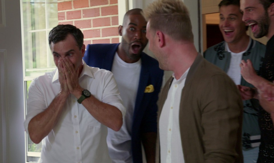 A scene from 'Queer Eye'