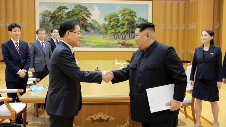 Optimism Greets Investors Sudden >> Why North Korea Is Suddenly Open To Nuclear Talks The Atlantic