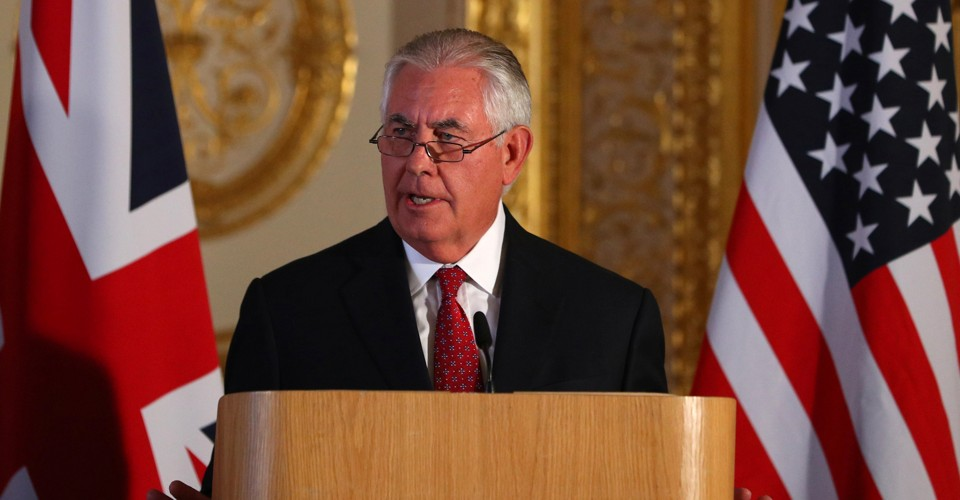 Why Did Trump Fire Tillerson Now?