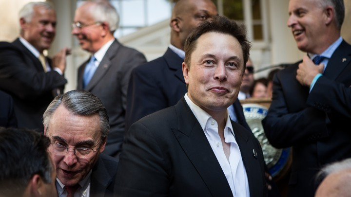 Why Did Elon Musk Delete His Facebook Pages? - The Atlantic