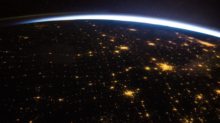 Lights over North America from the International Space Station