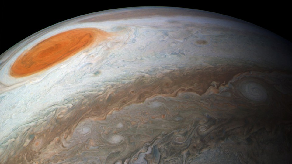 Why Is Jupiter's Great Red Spot Shrinking?Jupiter's Great Red Spot is shrinking