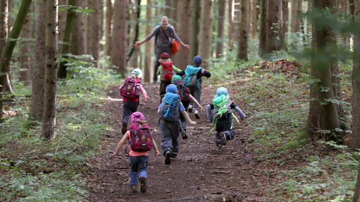Running Free In Germanys Outdoor >> The Push For Outdoor And Nature Based Preschools The Atlantic