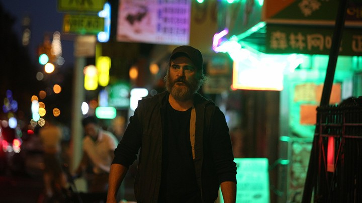 Joaquin Phoenix in 'You Were Never Really Here'