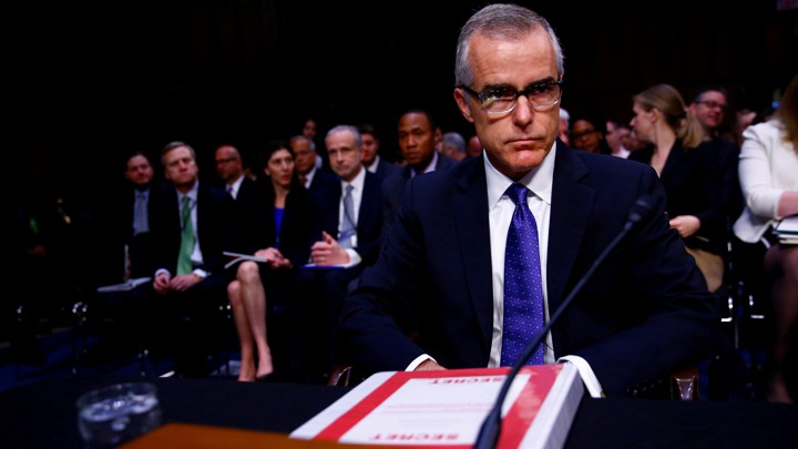 Image result for McCabe was a ringleader of rogue actors