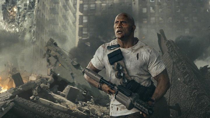 Dwayne Johnson in 'Rampage'