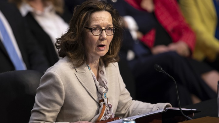 Gina Haspel testifies before a Senate panel