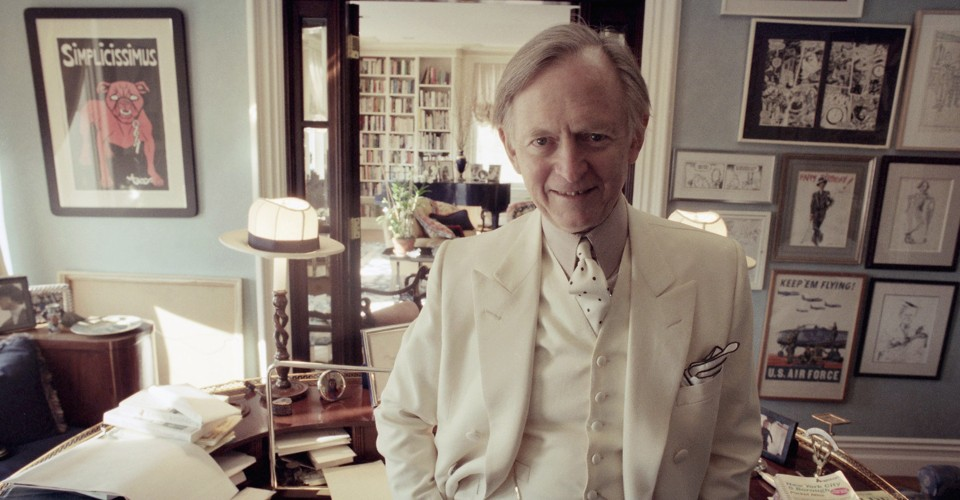 Tom Wolfe Dead At 88 Had An Expansive Lexicon The Atlantic