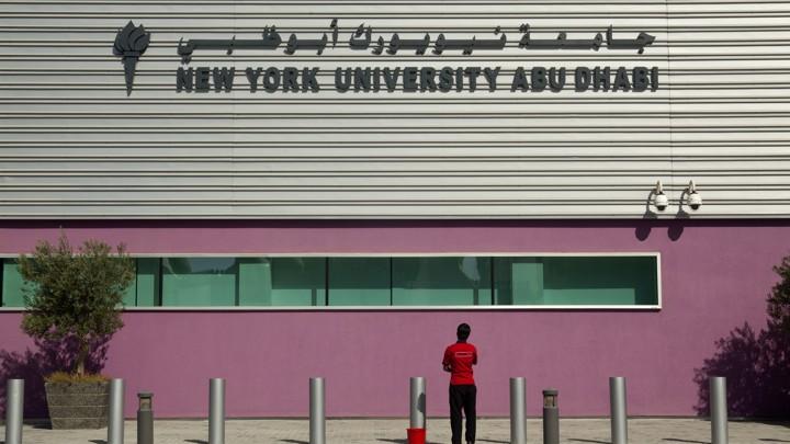 Report Criticizes Labor Practices at NYU Abu Dhabi Campus