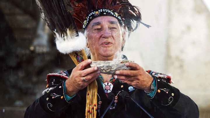 Max Gros Louis, the grand chief of the Huron-Wendat Nation of Quebec