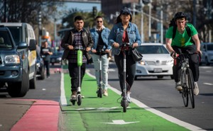Motor Scooters Race to Catch Up With Electric Scooters - The