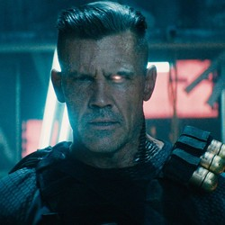 Josh Brolin as Cable in 'Deadpool 2'