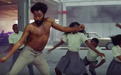 An image from Childish Gambino's 'This Is America' video