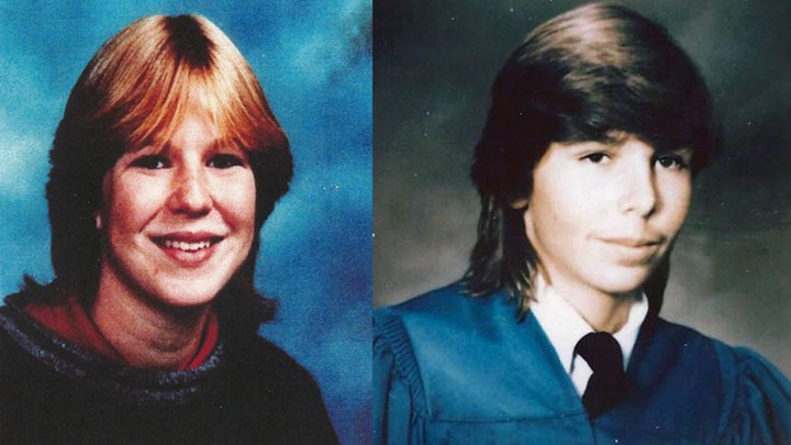 School portraits of Tanya Van Cuylenborg, 18, and Jay Cook, 21