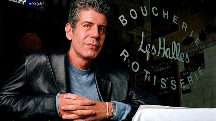 Anthony Bourdain in 2001