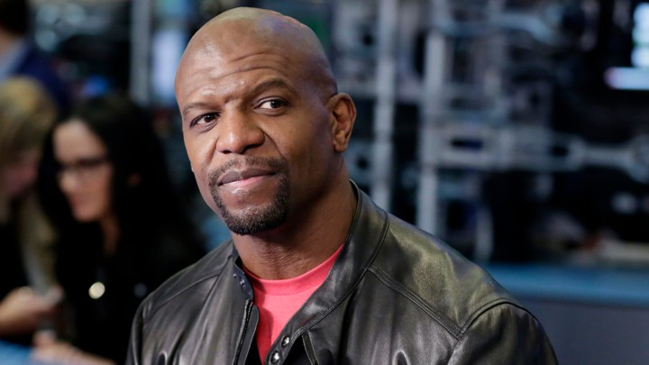 Actor Terry Crews is interviewed in New York in April