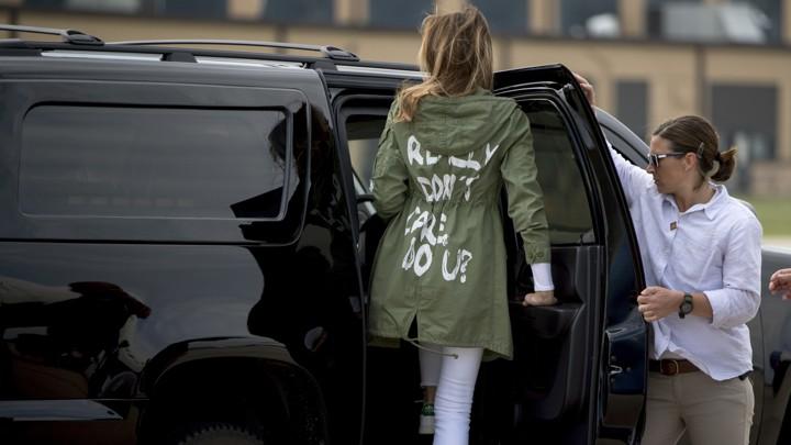 Melania trump zara jacket