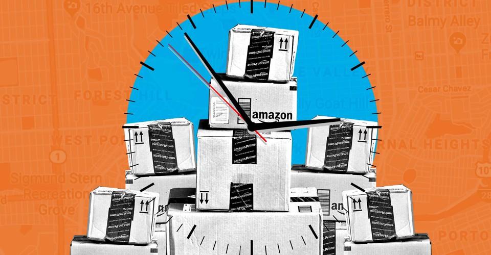 The Day I Drove for Amazon Flex - The Atlantic