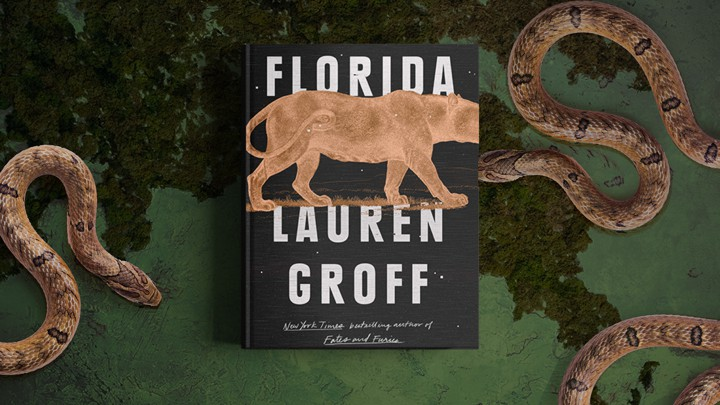 The cover of 'Florida' surrounded by snakes