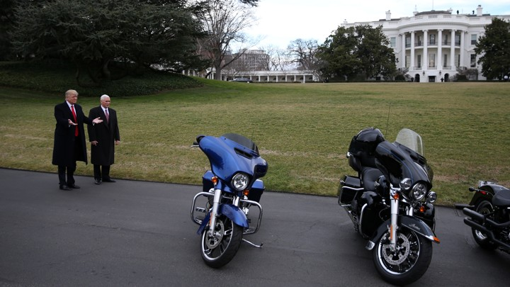 Why Did Trump Go After Harley Davidson The Atlantic