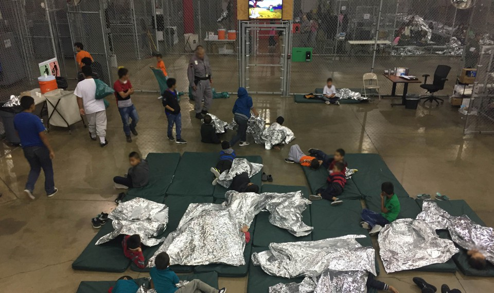 Image result for caging children usa