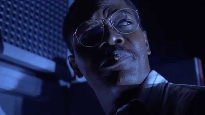 Samuel L. Jackson as Ray Arnold in 'Jurassic Park'